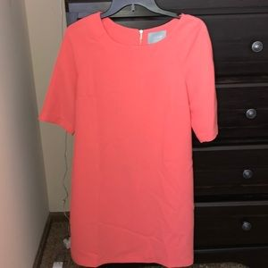Women's peach dress